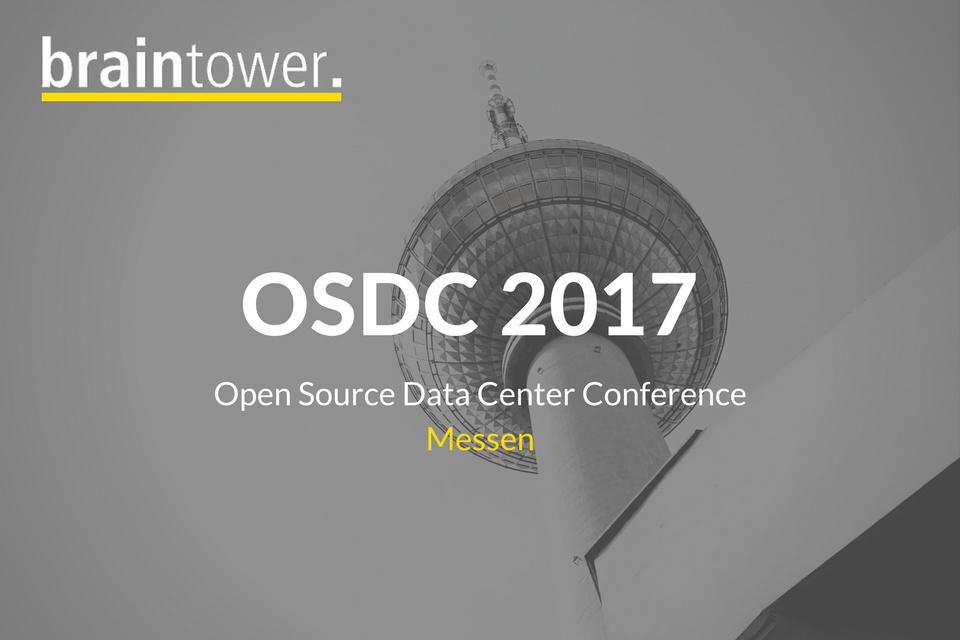 Braintower auf der OSDC
