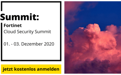 Panel Speaker beim Fortinet Cloud Security 360 Summit